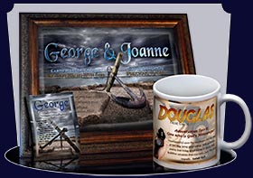 PC-SY59, Name Meaning Card, Wallet Sized, with Bible Verse, personalized, anchor ocean george